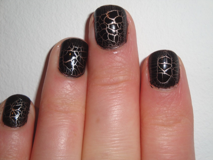 Barry M Croc Nail Effects Crackle Shatter Black Giraffe Crocodile Snake print Kelier cracked earth sophisticated glossy