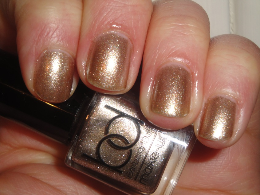 Barbara Daly Starlight nail polish starlight gold champagne foil silver shimmer Christmas