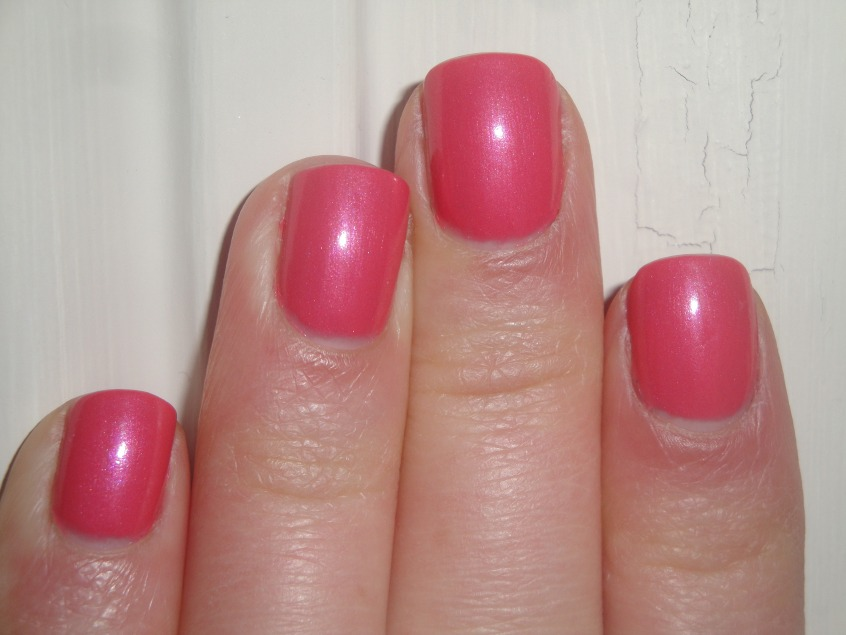 Boots 17 Spring Petal Spring Collection 2012 nail polish Lasting Fix pink shimmer rose UK