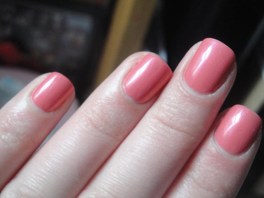 polish pro rose shimmer Nails Pinterest
