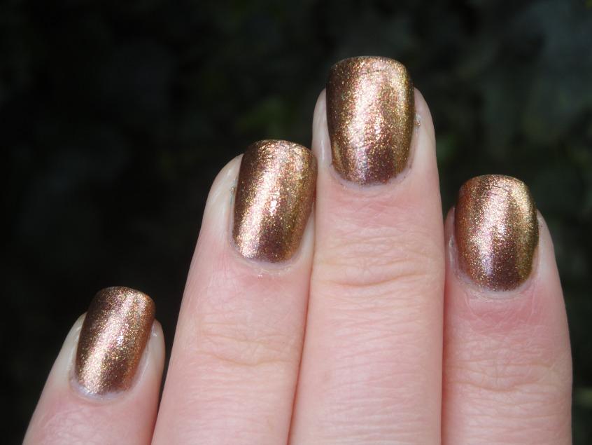 Gold Chrome Nail Polish Opi | Hession Hairdressing