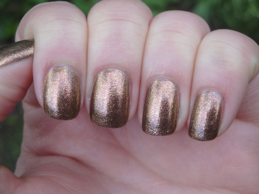Gold Chrome Nail Polish Opi images
