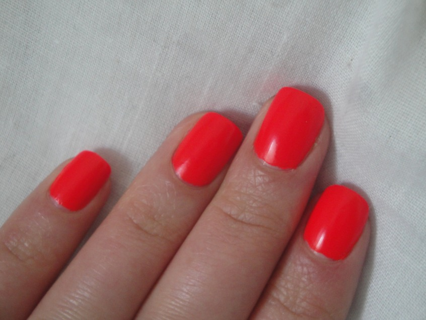 Models Own Hedkandi Hedonist Neon Coral Orange Red Matte Vinyl finish bright summer hot spring 2012 disco ibiza creme