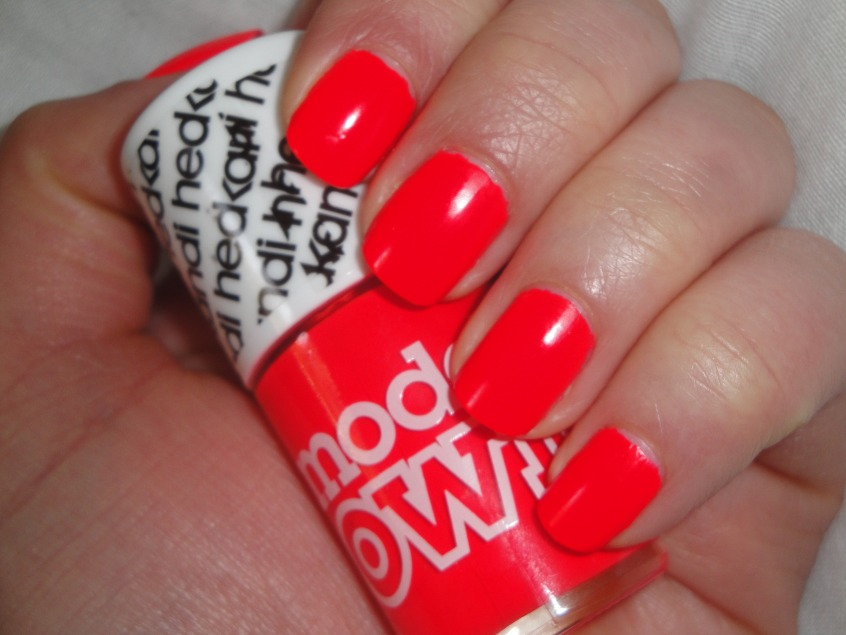 American Apparel Neon Red Nail Polish - Nails Gallery