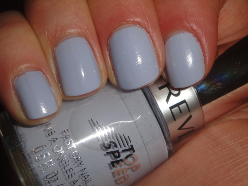 Pale Grey Nail Polish