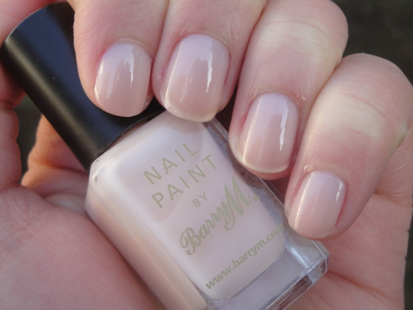 Barry M Nude nail paint new release soft pink beige nail polish sheer jelly wedding bridal manicure french naked work appropriate classic collection