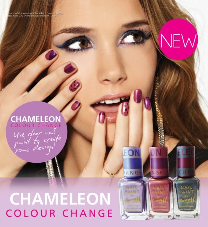 Barry M Press Release Chameleon Colour Change Nail Paint