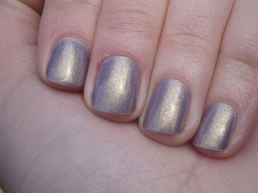 Marks and Spencer Lilac New Limited Collection lavender lilac gold shimmer hemlock glassfleck gold shimmer glitter nail polish cruelty free buav approved purple shimmer