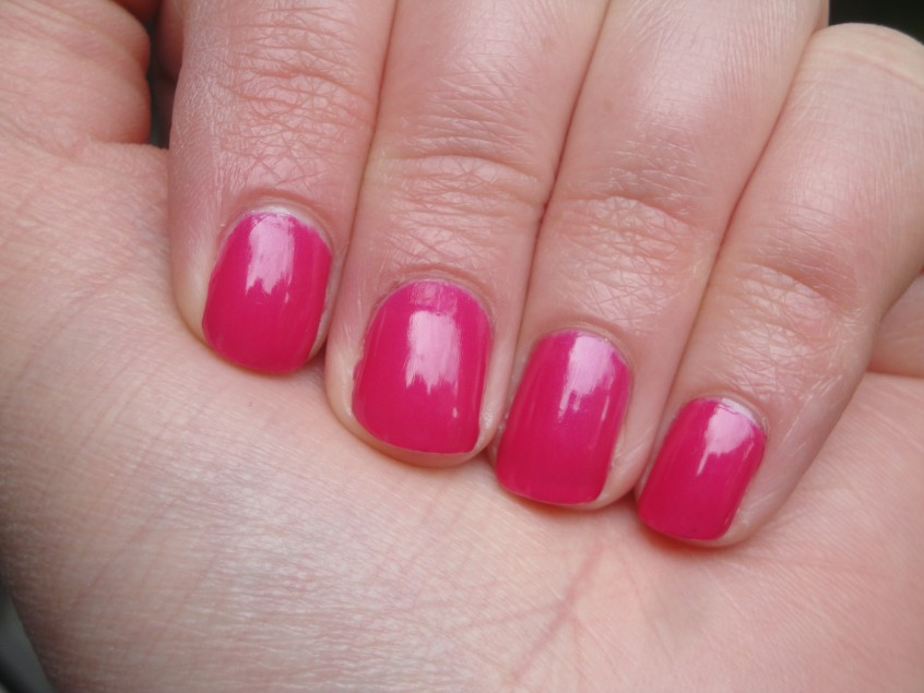 Ciate Jelly Bean Cupcake Queen Paint pots nail polish free marie claire july 2012 summer hot pink jelly blue shimmer opaque creme barbie uk