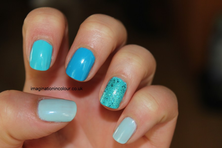 Mix And Match Turquoise Blue