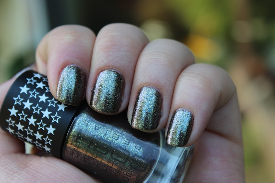 GOSH Galaxy new release black brown multi chrome duochrome foil warm and fozzie dupe dark autumn winter holographic rainbow shimmer (2)