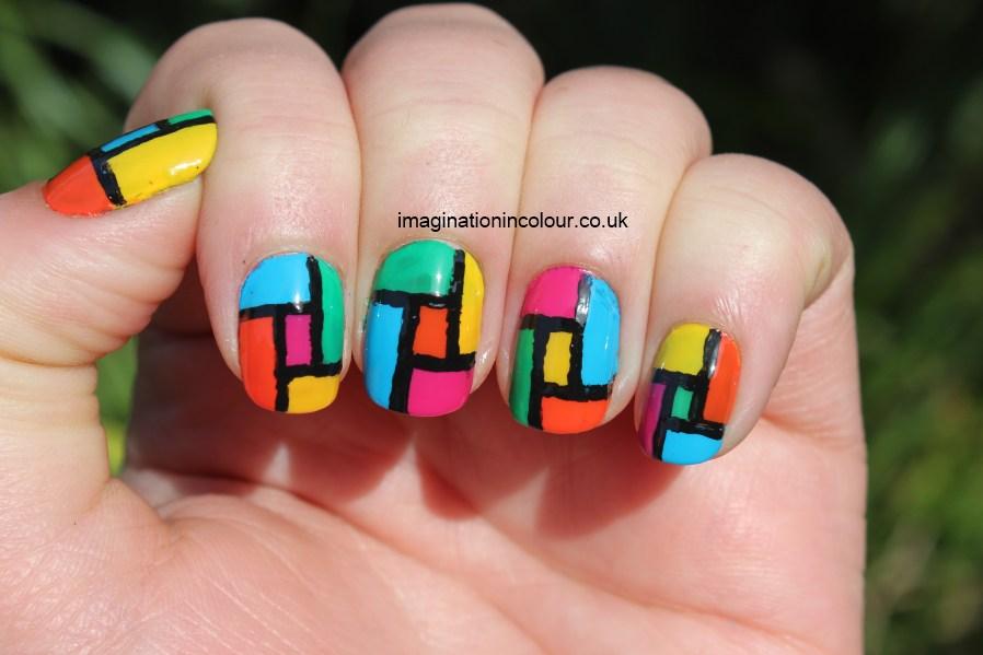 Famous Pink Orange Nails Sketch - Nail Paint Design Ideas ...