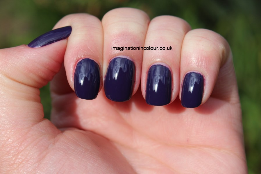 Barry M Plum Gelly - Imagination In Colour