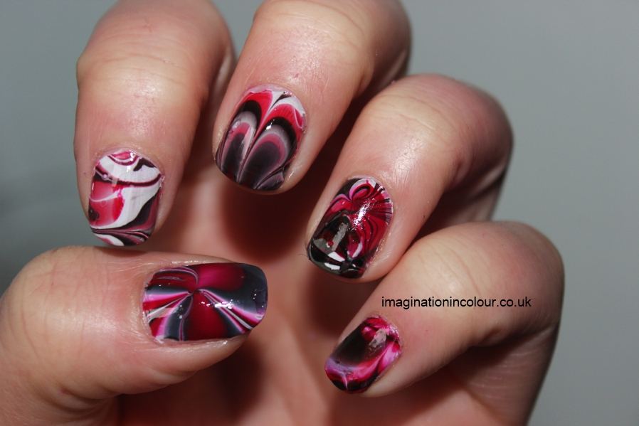 Black And White Marble Nail Designs  newhairstylesformen2014.com