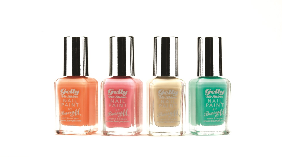 Barry M Gelly Nail Paint spring 2013 press release Lychee Dragonfruit Green Berry Papaya Dragon Fruit