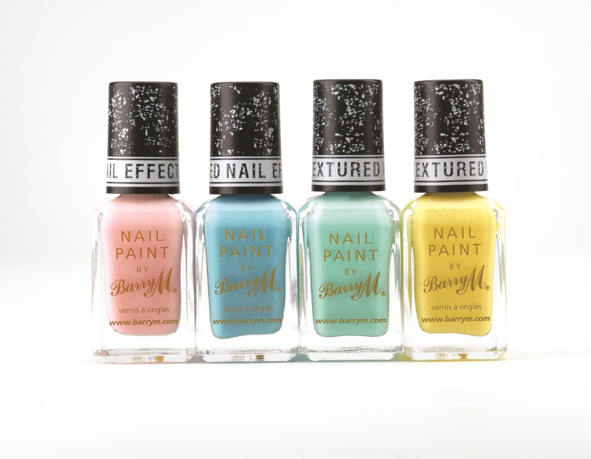 Barry M Textured Nail Effect spring 2013 release Ridley Road Kingsland Road Station Road Atlantic Road