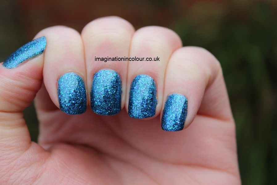 China Glaze Water-You Waiting For water you what are blue purple aqua glitter multi cirque du soleil collection UK nail polish blog review swatch swatches turquoise ocean (2)