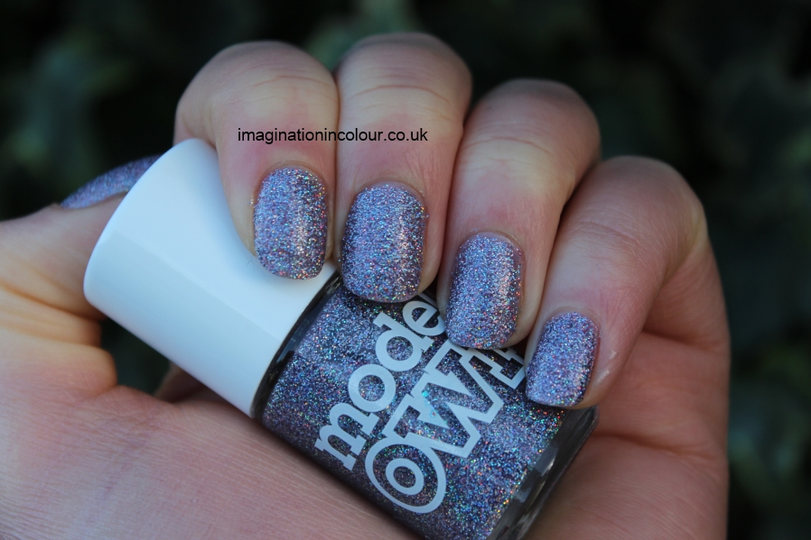 Models Own Southern Lights purple lilac scattered holo holographic glitter multicoloured sparkle juicy jules northern wonderland collection topcoat winter 2012 review blog UK nail polish swatch (5)