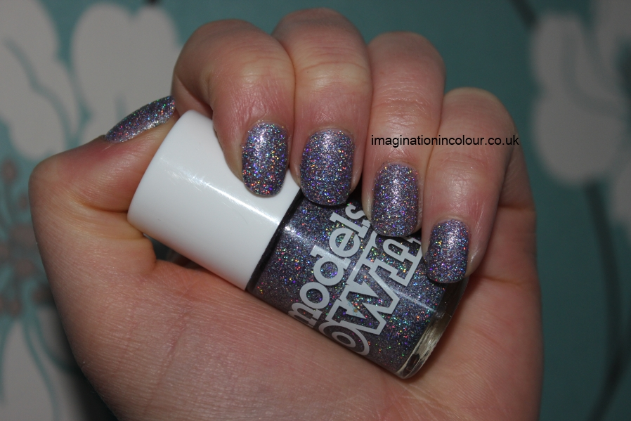 Models Own Southern Lights purple lilac scattered holo holographic glitter multicoloured sparkle juicy jules northern wonderland collection topcoat winter 2012 review blog UK nail polish swatch