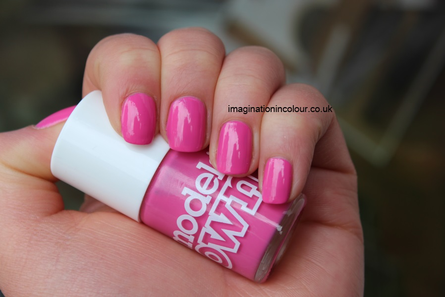 Models Own Pink Blush nail polish bubblegum creme spring pastel barbie baby pink review swatch swatches uk blog
