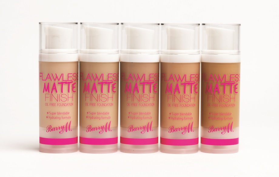 Flawless Matte Finish Foundation Group edited