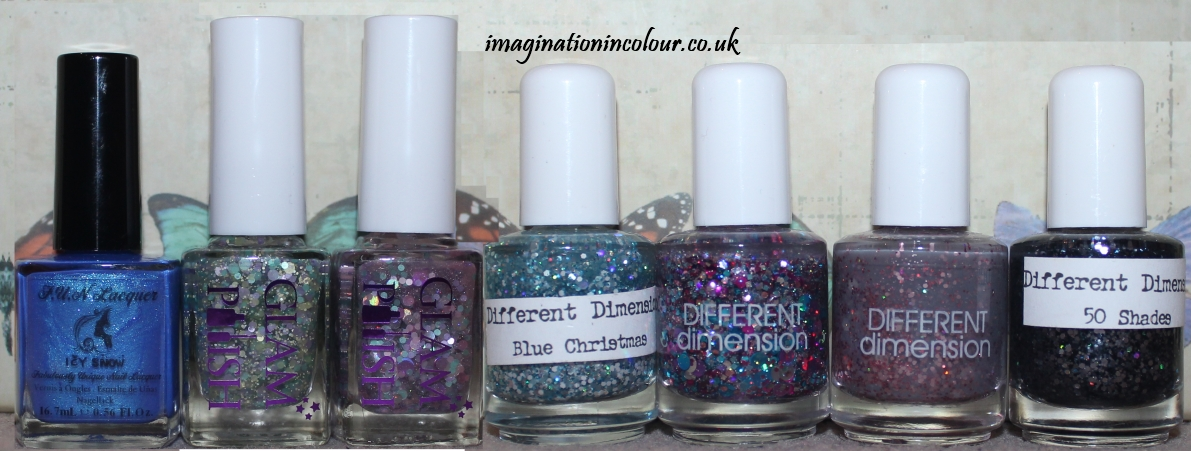 Indie Polish Collection Different Dimension Glam Polish FUN Lacquer