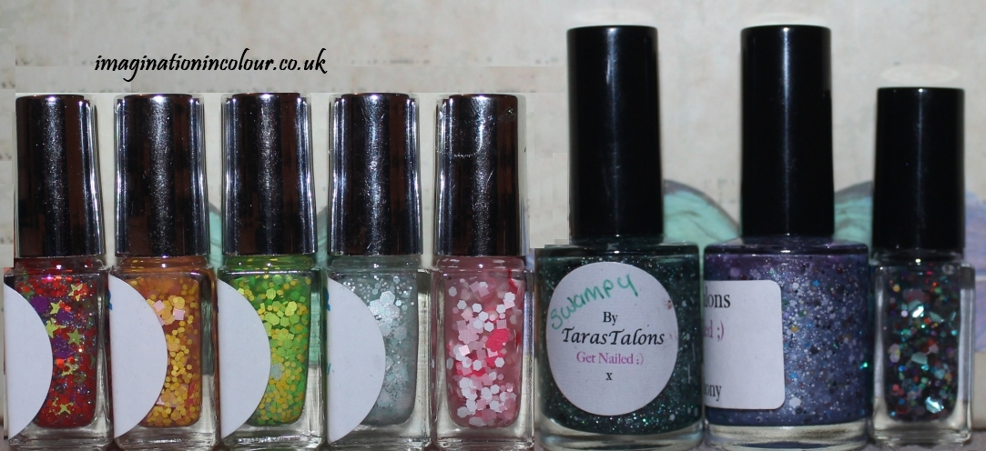 Indie Polish Collection Pocket Money Polishes Taras Talons