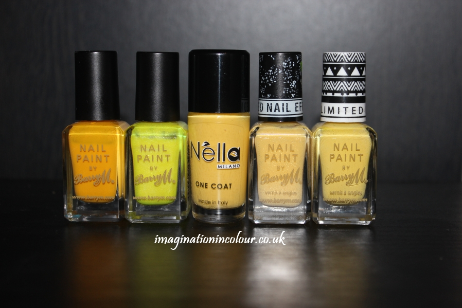 Yellow Nail Art (3)