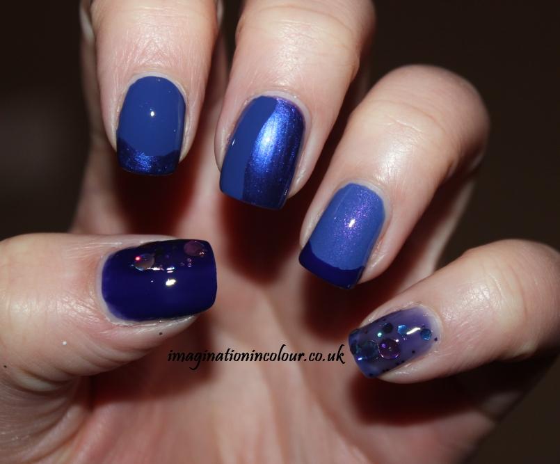 Blurple nail polish