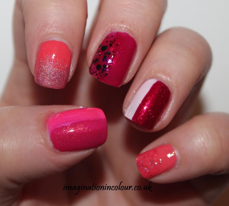 Pink Nail Art (2)