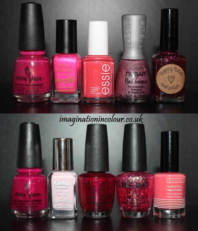 Pink Nail Art (3)
