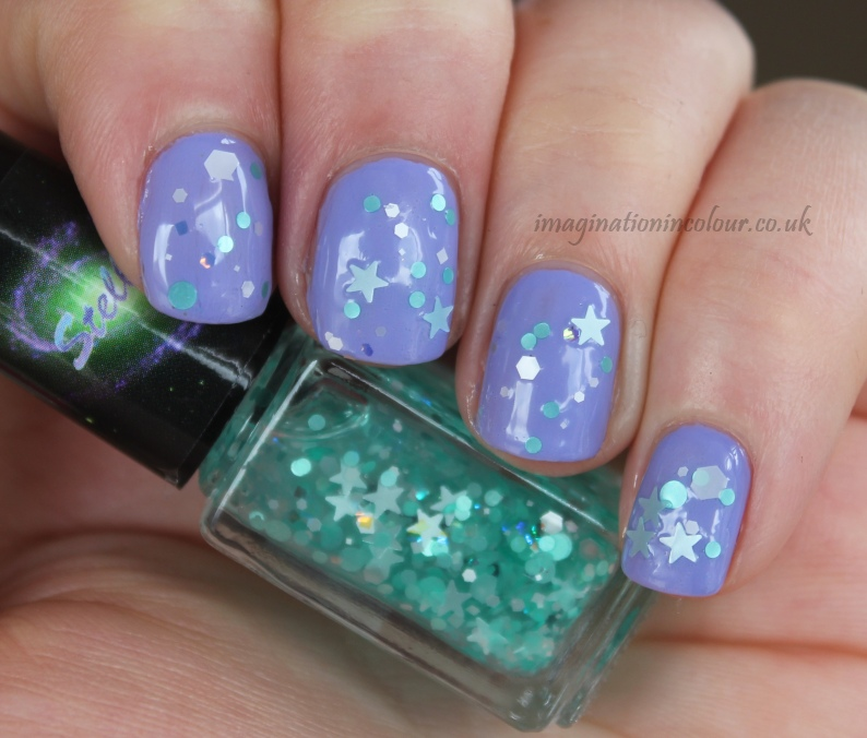 Stellar Nail Polish Waterfalls TLC