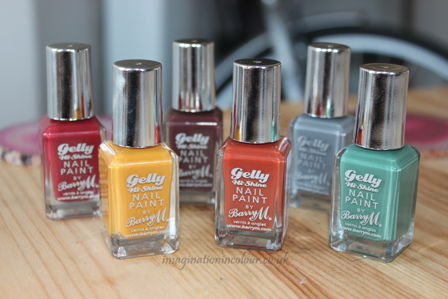 Barry M Autumn Winter Gelly Collection