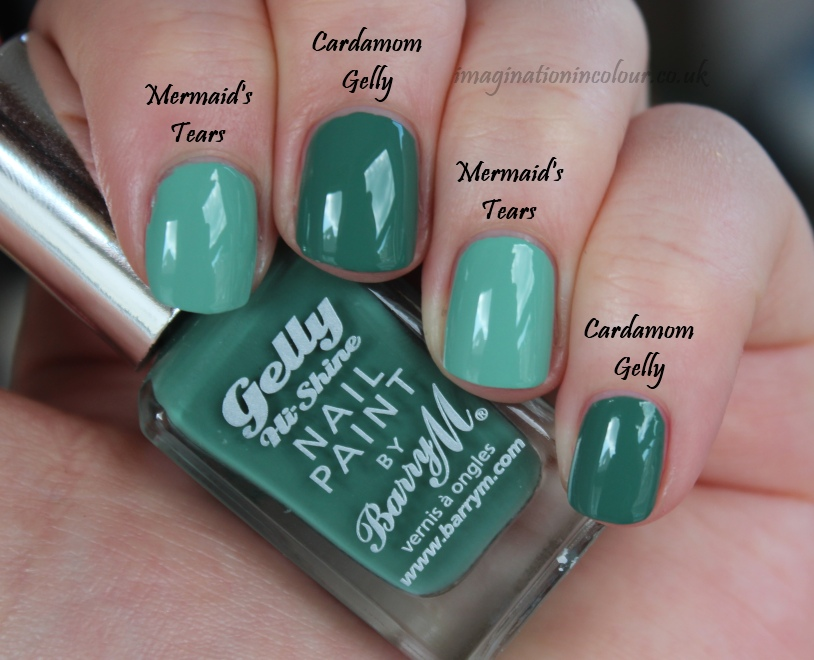 Barry M Cardamom Gelly Comparison