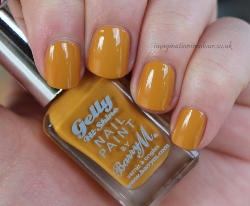 Barry M Mustard Gelly