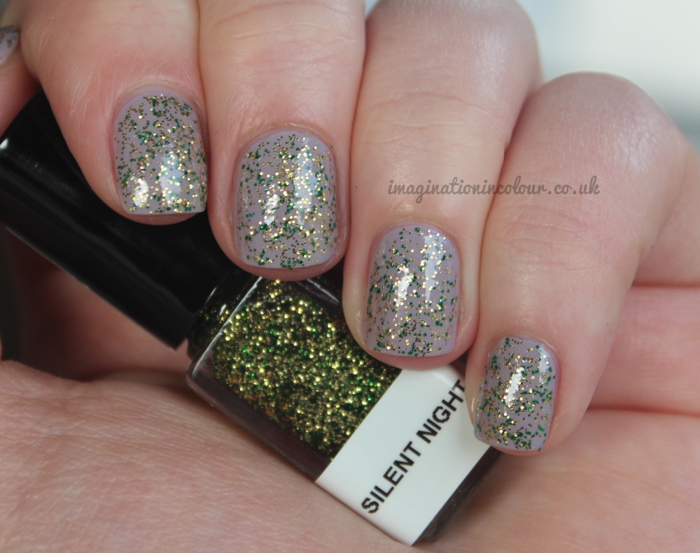 Stellar Silent Night indie nail polish