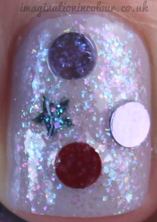Stellar Winter Wonderland indie nail polish
