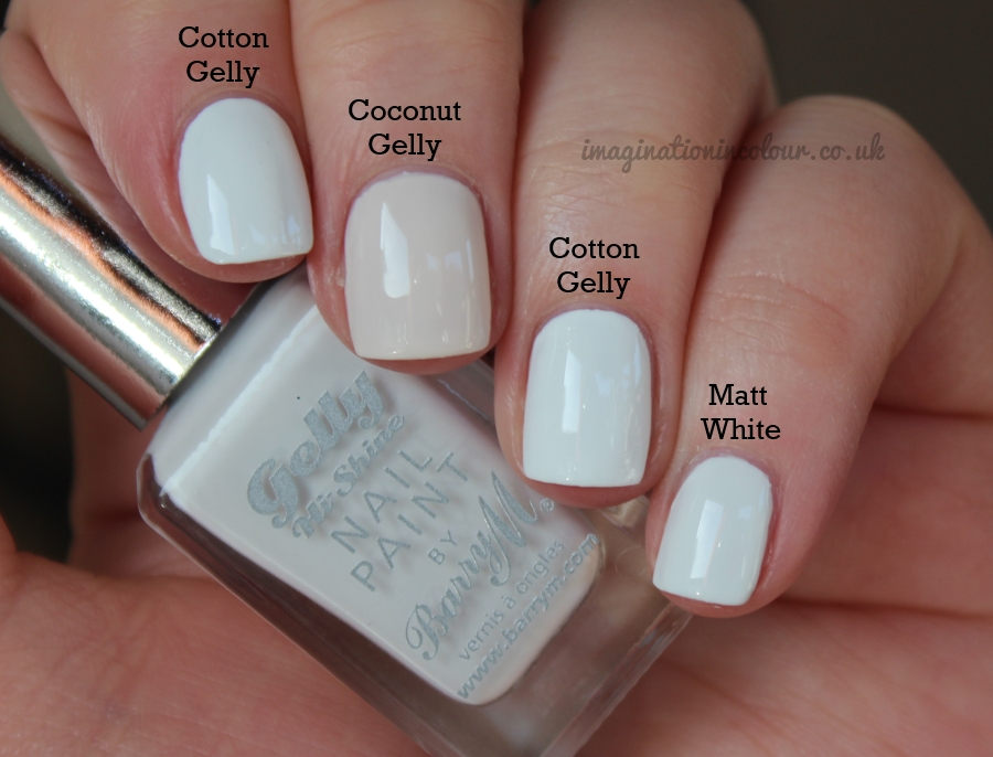 Barry M Cotton Gelly Comparison