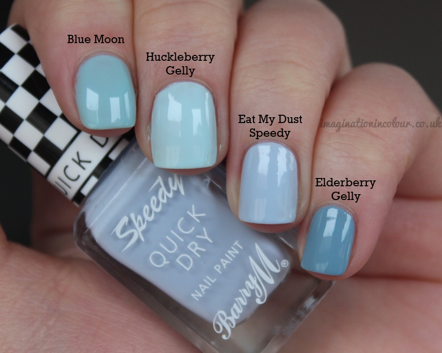 Barry M Eat My Dust Speedy Comparison