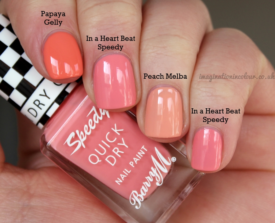 Barry M In A Heart Beat Speedy Comparison 1