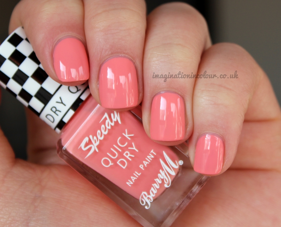 Barry M In A Heart Beat Speedy Quick Dry