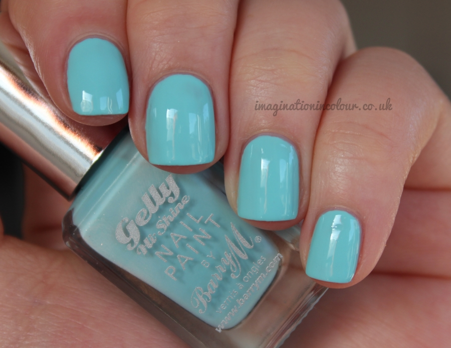 Barry M Sky Blue Gelly