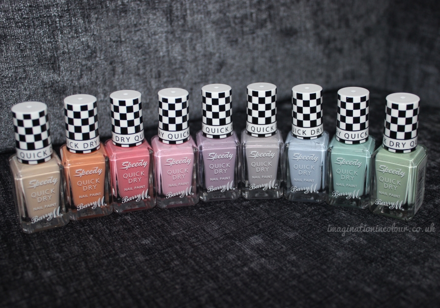 Barry M Speedy Quick Dry Collection