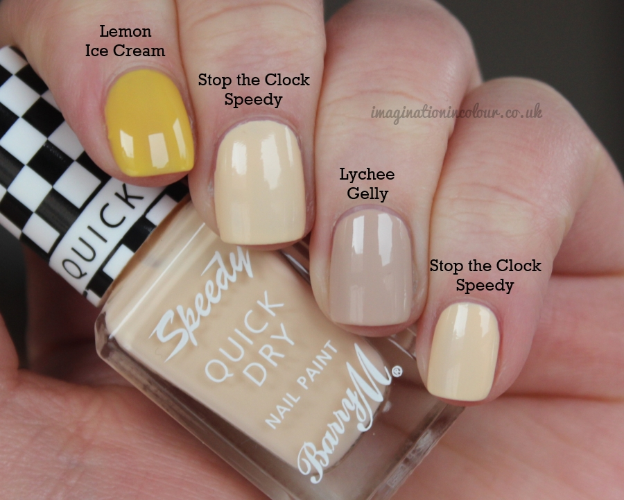 Barry M Stop The Clock Speedy Comparison