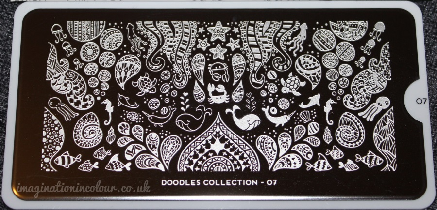 MoYou Doodles Collection Plate 07 Stamping