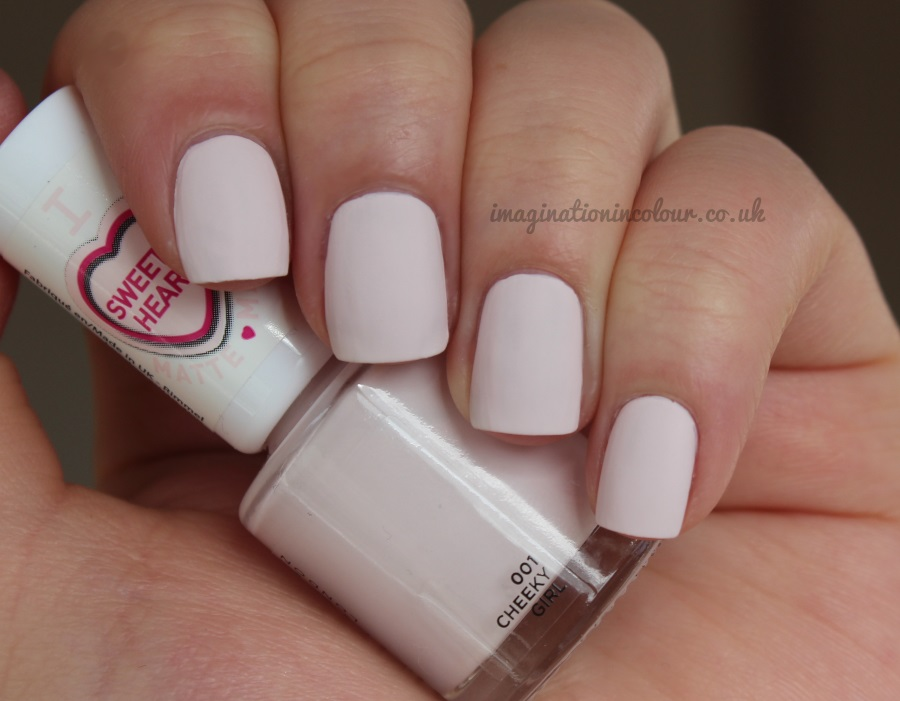 Rimmel Sweetie Heart Cheeky Girl Matte