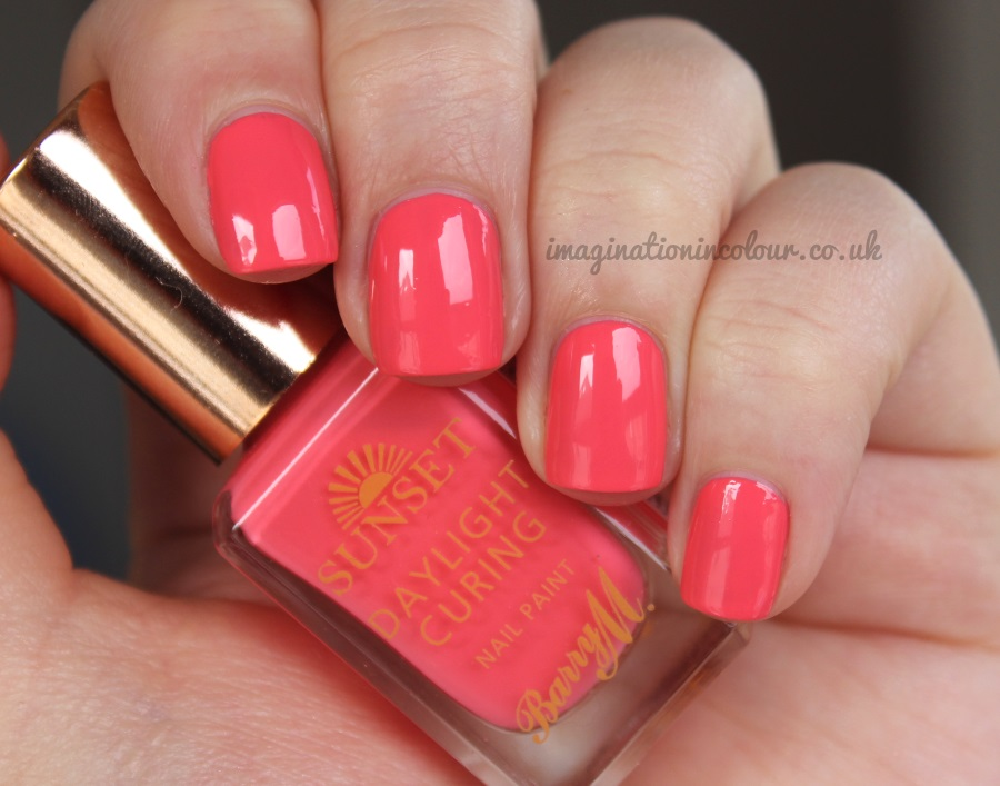 Barry M Peach For The Stars Sunset Daylight Curing