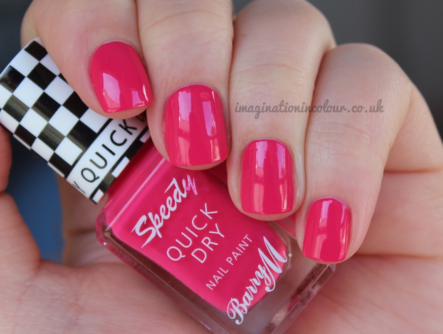 Barry M Speedy Get Set Go Quick Dry