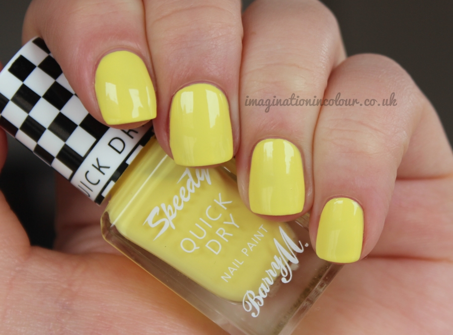 Barry M Speedy On Your Marks Quick Dry