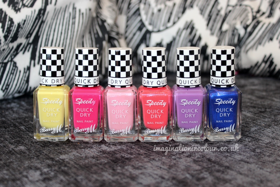 Barry M Speedy Quick Dry Summer Collection